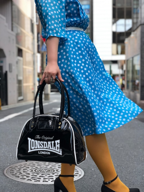 【 LONSDALE × DUSTANDROCKS 】Queensberry Bag S