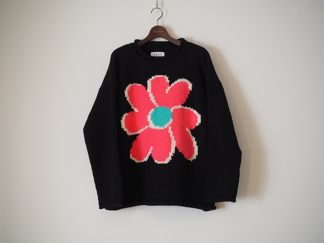 """[ONLINE STORE LIMITED] """"FLOWER with LOVE"""" HAND KNIT"""