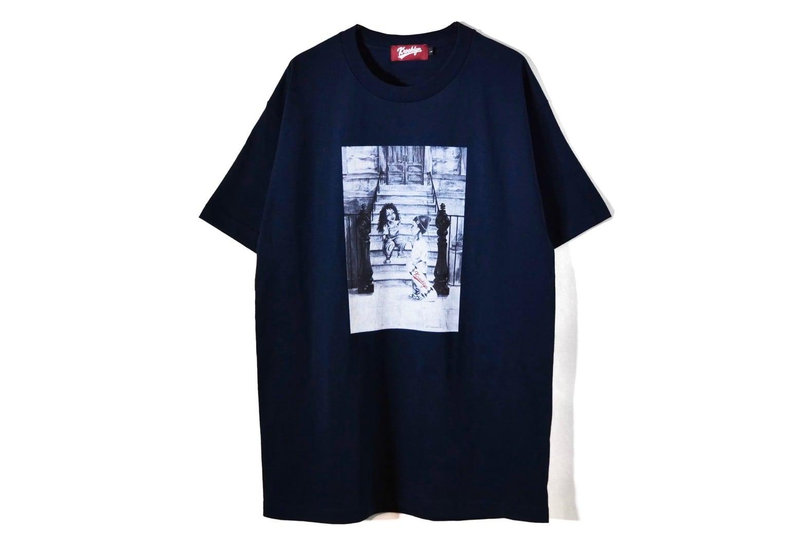 K'rooklyn × Denali  T-Shirts - Navy