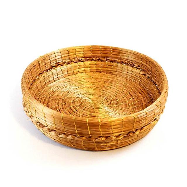 【ビオジュエリー】 黄金の草 カッピンドウラード バスケット BTSRA