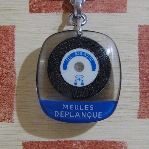 フランスDEPLANQUE[デプランク]研磨製品メーカーバフホイール広告 ブルボンキーホルダー