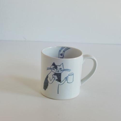 【トラネコボンボン 】猫のマグカップ(大)