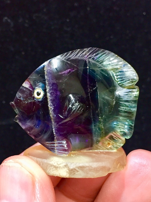 4) フローライト「熱帯魚」