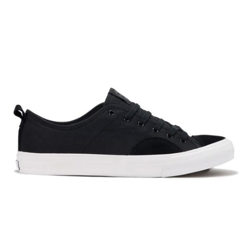 STATE SHOES 【HARLEM- BLACK/WHITE CANVAS/SUEDE】