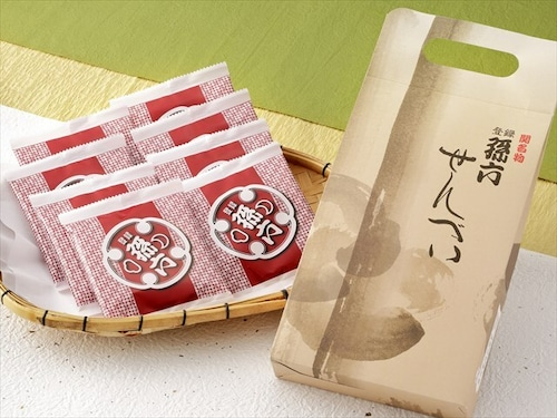 手提げパッケージ(孫六煎餅8枚入)