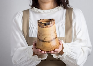 クヌギ材 花器 2(グリーンウッドターニング・鉢カバー・木製花器)/Canaria Wood Works