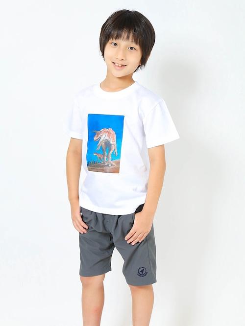 サイズとカラーを好きに選べるオーダーTシャツ(子供から大人まで) フクイラプトル