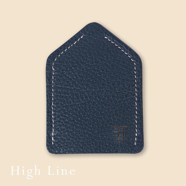 """お守りのおうち レザー """"High Line""""【 インディゴ01 】"""