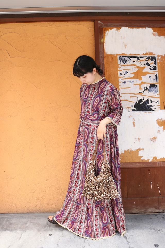 old paisley  one-piece / 7SSOP10-04