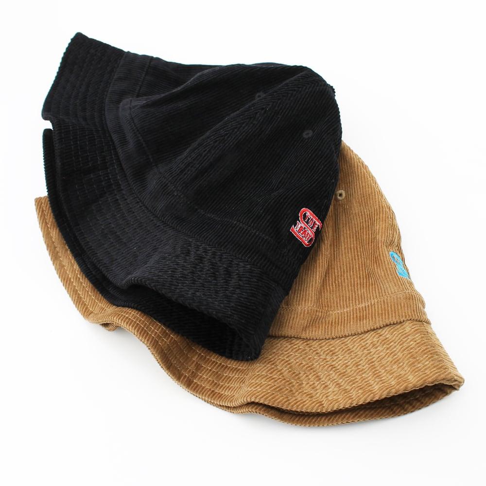 CORDUROY BALL HAT #BLACK