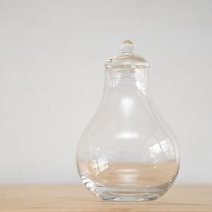 【ガラス容器】フィグ瓶(100xh150mm)