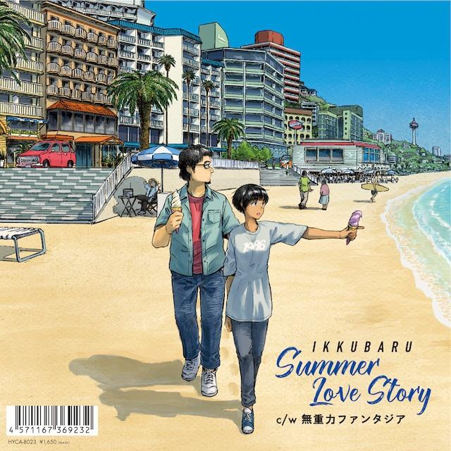 [新品7inch] イックバル - Summer Love Story c/w 無重力ファンタジア