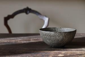 村上躍 19.白灰化粧鉢