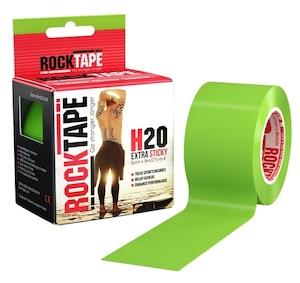 ロックテープH2O(耐水性PRO)ライムグリーン / ROCKTAPE H2O Lime