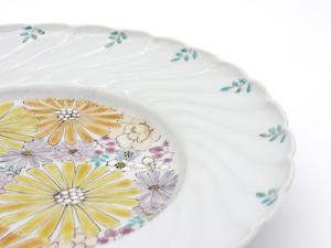 彩華 8.5寸皿(25.5cm)