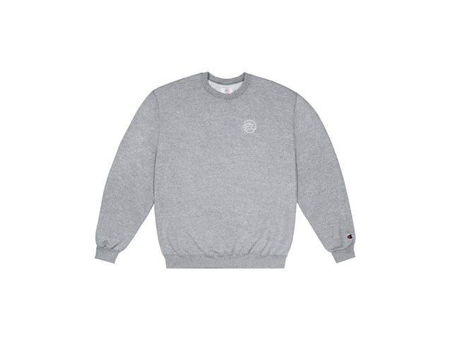 CLASSIC GRIP|EMBROIDERED GLOW IN THE DARK CLASSIC GRIP CREWNECK
