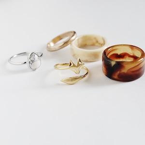 SET RINGS || 【通常商品】 NOZOMI'S RING SET || 5 RINGS || MIX || FRSG1009R
