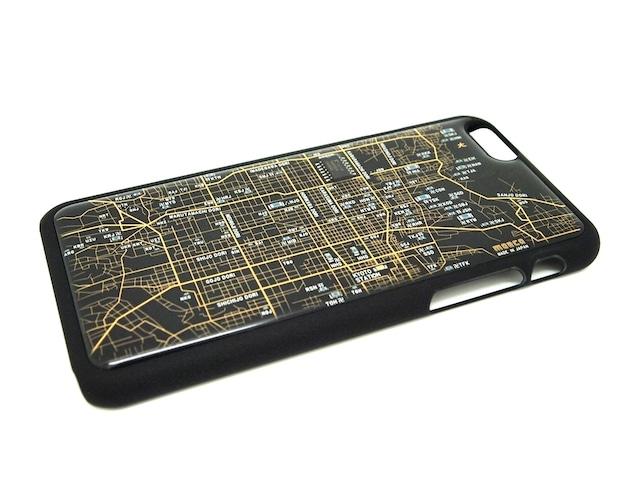 FLASH 京都回路地図 iPhone6/6s  ケース  黒【東京回路線図A5クリアファイルをプレゼント】