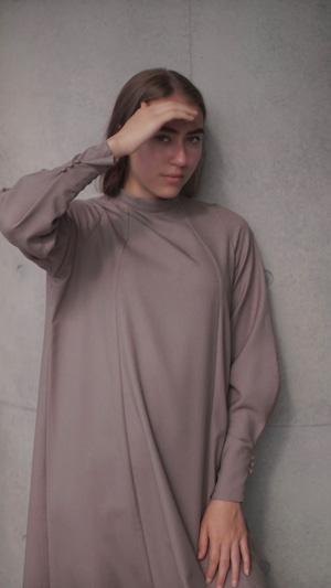 Roman monastic dress / cocoa