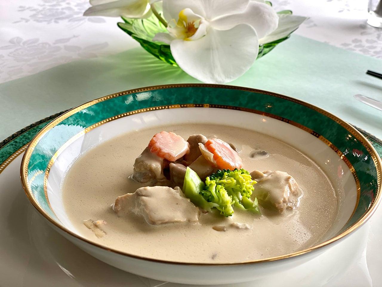 国産鶏とマッシュルームのクリームシチュー 1人前(200g)