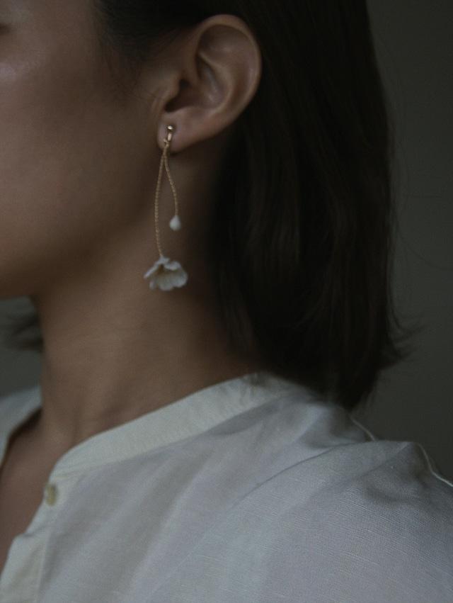 Paige stem earrings