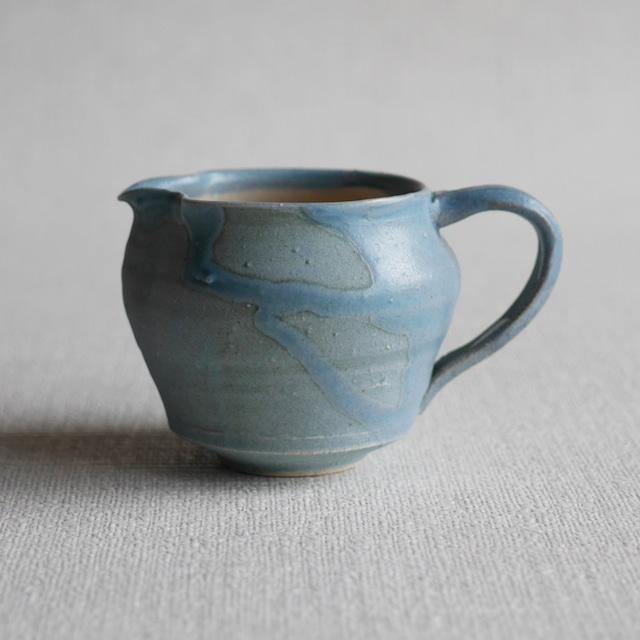 釉彩ピッチャー Blue