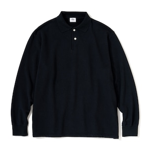 """Just Right """"WFH Polo L/S"""" Navy"""