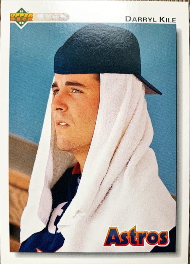 MLBカード 92UPPERDECK Darry Kile #374 ASTROS