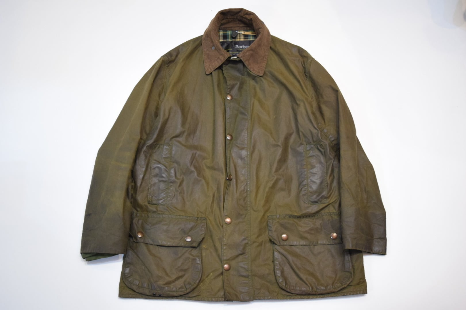 USED 80s Barbour BEAUFORT -42 01193