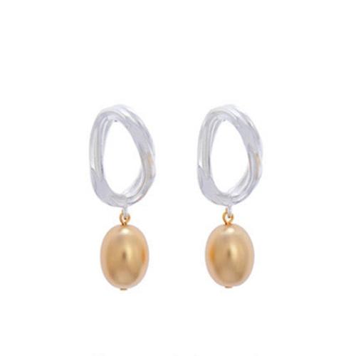 Sead's Mara/シーズマーラ Groove chain ovate earring・pierce 21A3-58