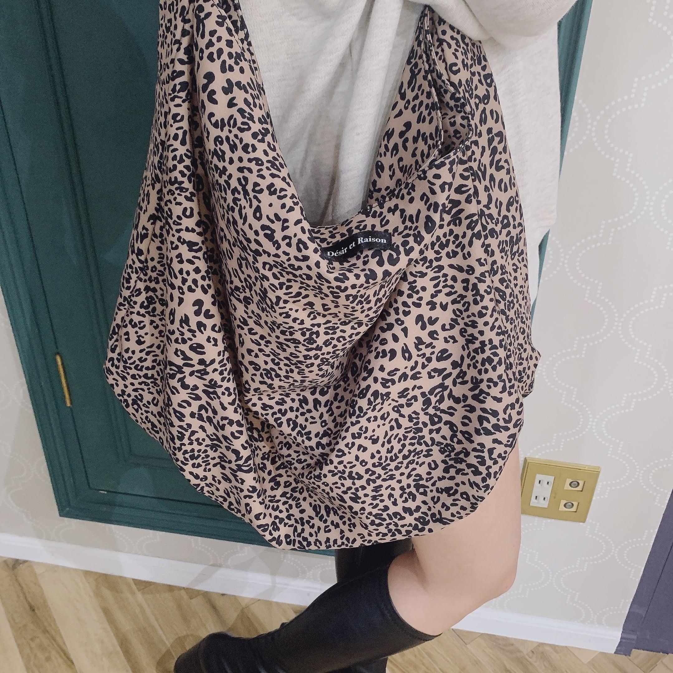 【予約】Désir original leopard bag
