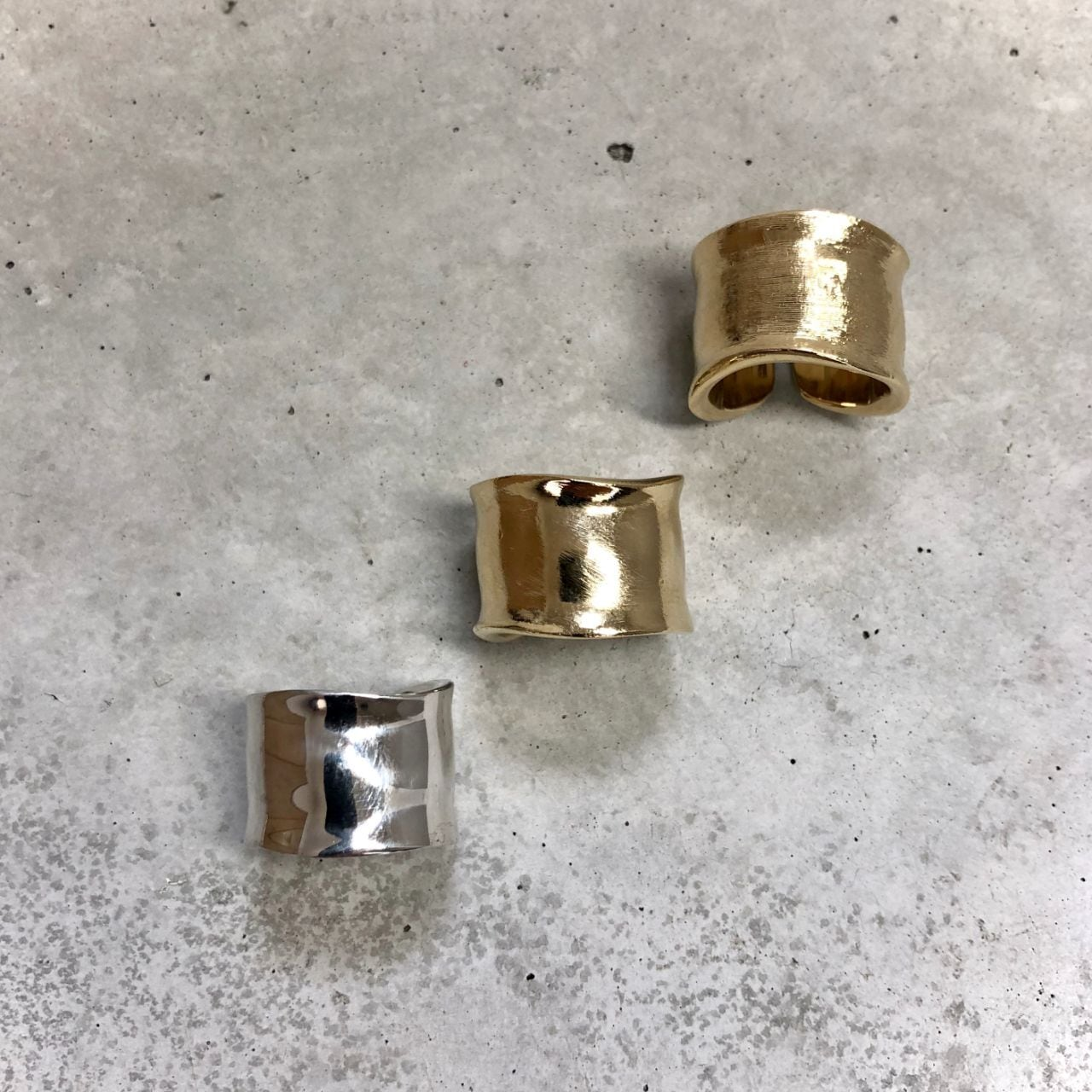 【LR-10BR】Free size wide ring type-B