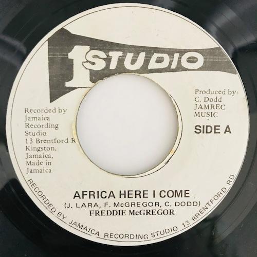 Freddie McGregor - Africa Here I Come【7-20610】