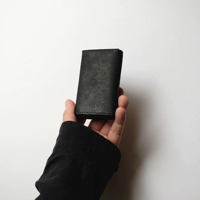 flat cardcase - bk - プエブロ