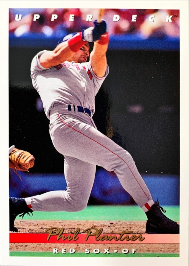MLBカード 93UPPERDECK Phil Plantier #274 RED SOX