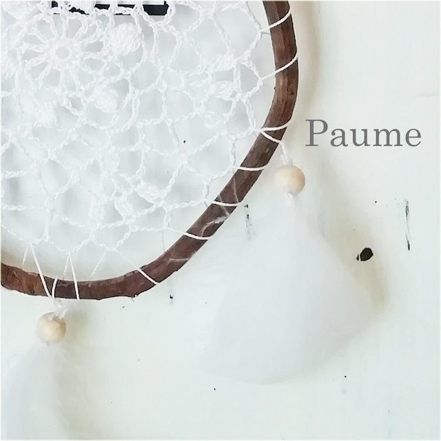 Paume: ドリームキャッチャー2 羽が風に揺れて綺麗です