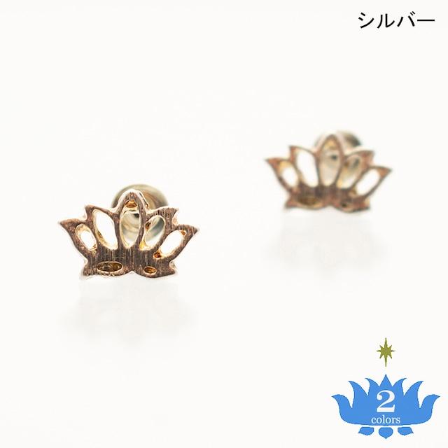 スタッドピアス ロータス06 Stud Pierced Earrings Lotus06