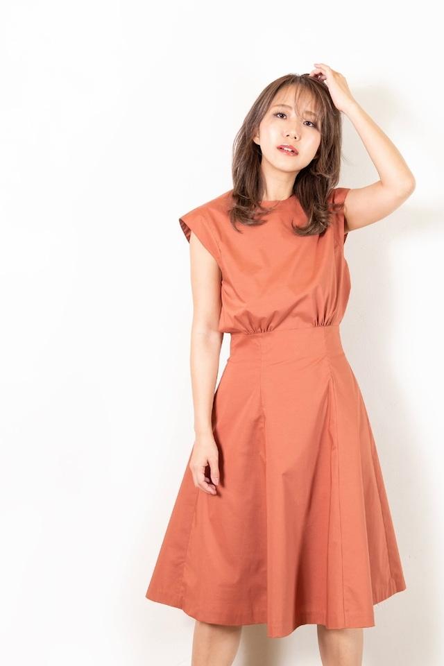 waist mark bell-line dress
