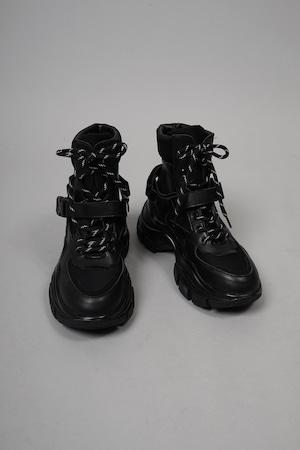 BELT SNEAKER  (BLACK) 2108-24-1102