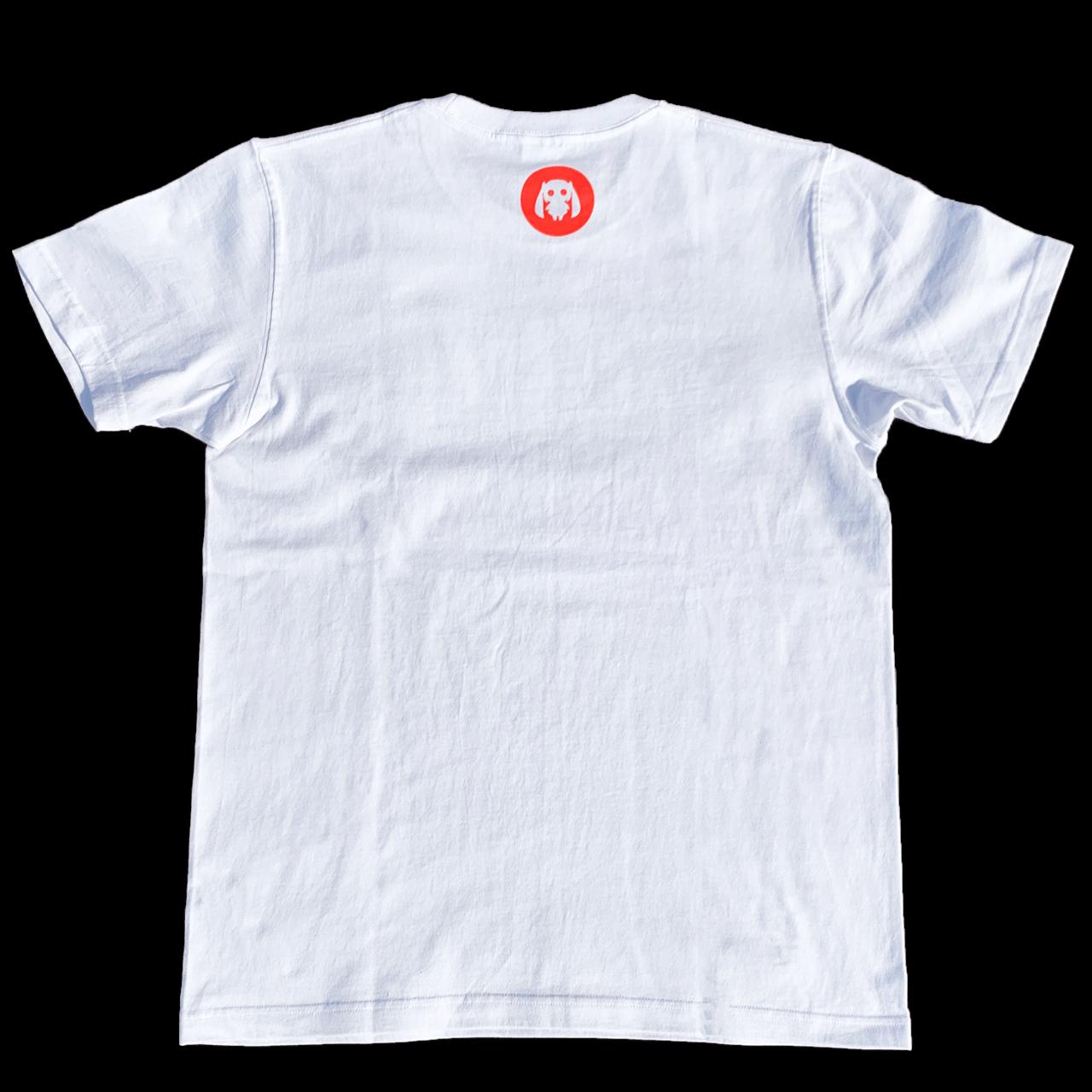 ピノキオピー - AKEBONO Tシャツ(白) - 画像2