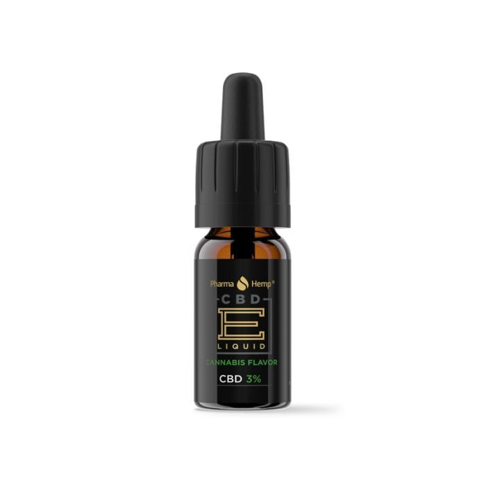 PharmaHemp E-LIQUID 3% プレミアムブラック カンナビス