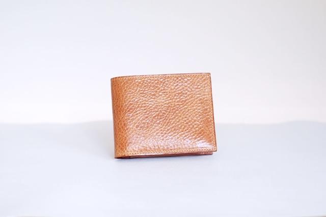 二つ折り財布/Natural