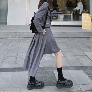 【2点セット】ヘムスカート+パイピングジャケット ・18911