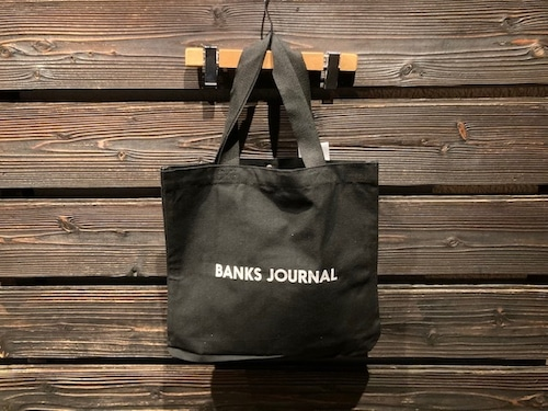 Banks Journal  Label Tote Bag BA0002  Black