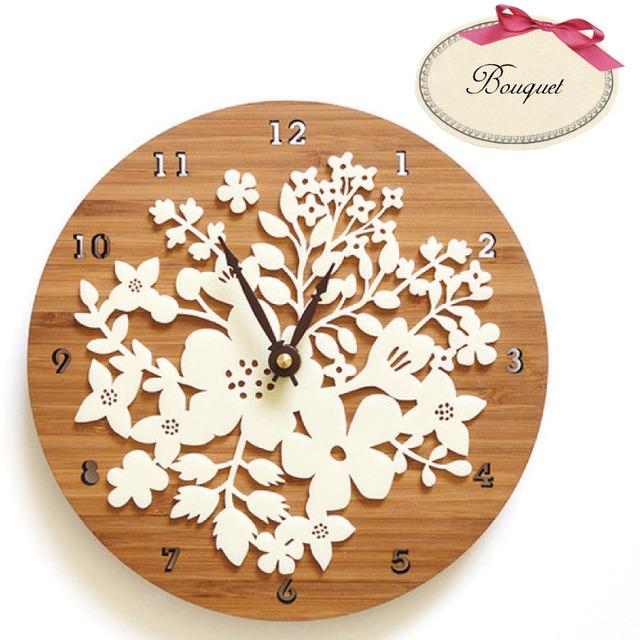 Decoylab   Bouquet ハンドメイド掛け時計 ブーケ