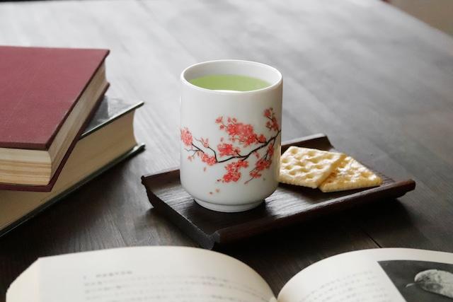 『3J028-12B』『温感湯呑』『 桜 』 *春 お茶 演出 インスタ映え 感動 茶 贈り物 誕生日 プレゼント