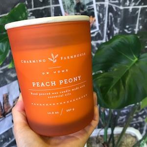 【DW Home Candles】PEACH PEONY【アロマキャンドル】