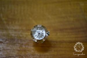 【ビンテージ時計】1974年6月製造 セイコー指輪時計 日本製 当時の定番モデル