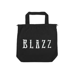 Euro Blazz Drawstring BIG TOTE BAG [BLACK]