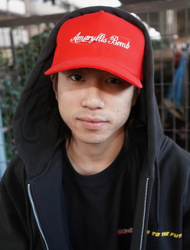 AB DRINK COKE CAP (RED)
